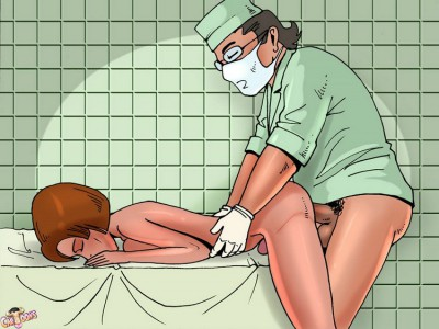 futa girl fucked by a doctor
